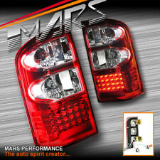 Clear Red LED Tail lights for Nissan Patrol GU 1997-2004 Series 1, 2, 3 4x4 4WD