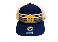 NWT New Seattle Mariners '47 Brand Kids MVP Meshback Trucker Snapback Hat