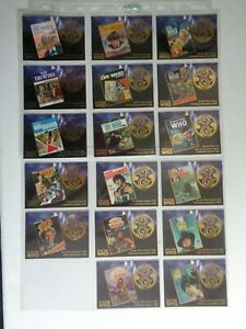 17 cards of   --  The Dr Who Annual Chase Incomplete Set   ( No F12 Missing )