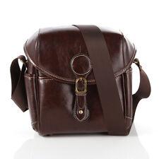 Vintage Waterproof PU Leather Digital DSLR SLR Camera Case Messager Shoulder Bag