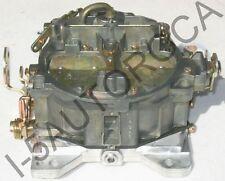 MARINE CARBURETOR 4 BBL QUADRAJET 4MV 370 HP 454 CID 1347-804625R02 DICHROMATE