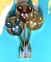 Disney Collector Pin Disneyland Castle with Mickey Balloons