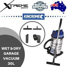 Kincrome Wet & Dry Garage Vacuum 30L 240V / 1250W