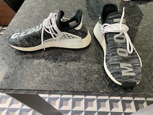 Size 8.5 - ADIDAS NMD Human Race Trail x Pharrell Oreo  AC7359 2017