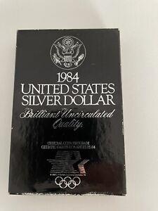 USA 1984 Olympic silver dollar  - UNC