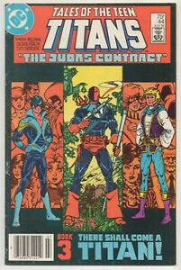 Tales of the Teen Titans #44 / 1st NightwingNewsstand Variant / DC Comics 1984
