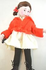 Norman Rockwell TINA Porcelain Character Doll Rumbleseat Handcrafted Germany NEW