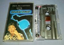 PAUL McCARTNEY GIVE MY REGARDS TO BROAD STREET cassette tape album T7778