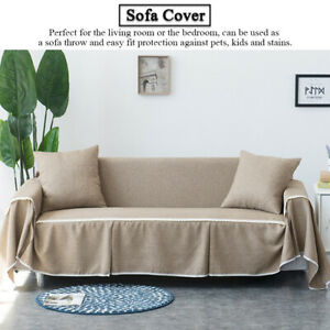Sofa Covers 2 Seater Slipcover Elastic Stretch Settee Protector Couch Protector