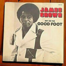 2 x Vinyl  LP 1972 JAMES BROWN--ORIGINAL   DOUBLE ALBUM--Get On The Good Foot VG