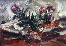 Raoul Joseph Lambert, huile sur toile 1960, Montpellier v96