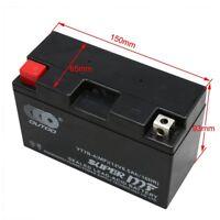 12V AGM Battery YT7B-BS YT7B-4 For 2000-2011 SUZUKI DRZ400 Yamaha YFZ450