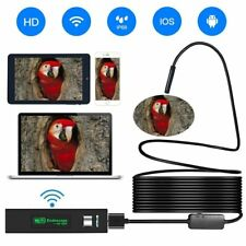 Wireless Endoscope iOS Android USB Borescope Inspection Camera,2.0 Megapixel 720