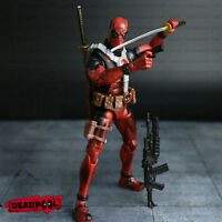 "US 6"" Marvel DEADPOOL Universe X-Men Comic Series Action Figure Toy Without Box"