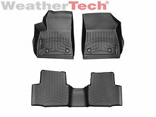 WeatherTech FloorLiner Mats for Chevy Cruze - 2016-2018- 1st/2nd Row - Black