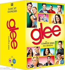 Glee: The Complete Season (Series) 1 2 3 4 5 & 6 Collection Box Set | New | DVD