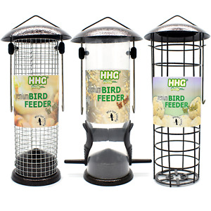 Wild Bird SEED NUT FATBALL FEEDERS - Quality Hammertone - Choices - Discounts