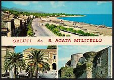 AA0564 Messina - Provincia - Saluti da Sant'Agata di Militello - Vedute