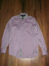 Ted baker lilac shirt 100% cotton size 2 chest 38'' long sleeved