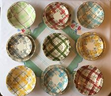 ~Wonderful Collection!~Bowl/Plates & Saucers~VTG 50s WASHINGTON POTTERY-Hanley~