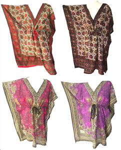 Beach Wear Kaftan Plus Size Cover Up Dress Tribal Festival 10 12 14 16 18
