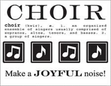 DISCONTINUED #40054 SRM Say It With Stickers Mini CHOIR Ensemble Singing Church