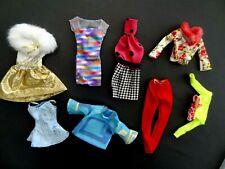 Lot vêtements vintage poupée BARBIE MATTEL GENUINE FASHIOIN AVENUE - années 1990