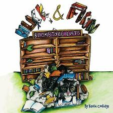 """Huck & Finn, Bookstore Cats"" signed by Kevin Coolidge"