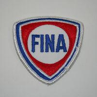 Rare Vintage FINA Oil & Gas Service Station Cloth Jacket Patch New NOS 1970s