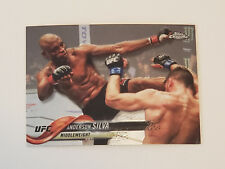 ANDERSON SILVA 2018 UFC TOPPS CHROME CARD #42 SP VARIATION 208 200 153 148 117