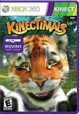 Kinectimals (Microsoft Xbox 360, 2010), Original Case and book, Free Shipping