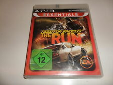 PlayStation 3 PS 3  Need For Speed: The Run Essentials
