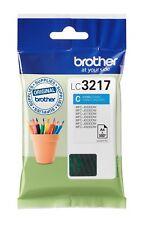 Genuine Brother LC3217 Original Cyan ink cartridge (LC3217C) VAT INC