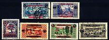 LIBANO - 1928/giugno 1929 - Paesaggi e siti con soprastampa rossa in francese