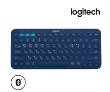 Logitech Multi-Device Bluetooth Keyboard K380 Blue English / Korean