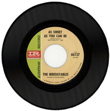 """THE IRRESISTABLES  """"AS SWEET AS YOU CAN BE""""   DEMO  NORTHERN SOUL"""