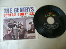 "THE GENTRYS""SPREAD IT ON THICK-disco 45 giri MGM sa 1968"" RARE-PERFECT"