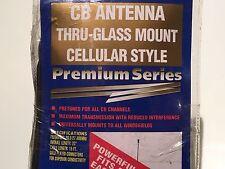 CB ANTENNA THRU-GLASS MOUNT CELLULAR STYLE, RALLY 19650