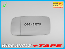 Wing Mirror Glass Volvo 740 / 760 / 940 1982-92 Aspheric +TAPE Left Side /P002