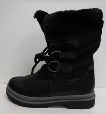 Khombu Size 7 Black Snow Boots New Womens Shoes