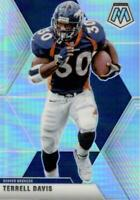 2020 Panini Mosaic Terrell Davis Silver Prizm #68 Denver Broncos
