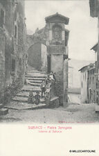 SUBIACO - Pietra Spregata - Interno di Subiaco
