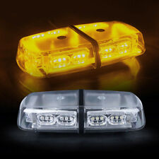36 LED Yellow Amber Vehicle Rooftop Emergency Warning Flash Strobe Light Bar