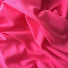 Bright Fuschia Muslin Swaddling Blanket - Light & Airy- XL Size - Great Gift