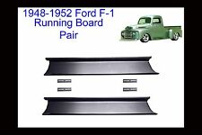 Ford F-1 Pickup Truck Steel Running Board Set 48,49,50,51,52 1948-1952 16 Gauge