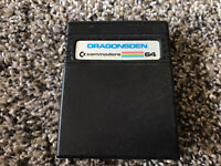 Dragonsden Commadore 64 Cartridge GAME ONLY Tested WORKS Authentic Game