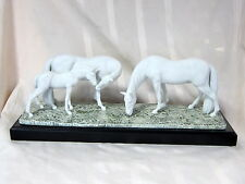 LLADRO #8699 HORSES IN THE MEADOW BRAND NEW IN BOX ANIMALS BEAUTIFUL SAVE$$ F/SH