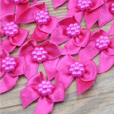 20/60/120 Pcs Mini Satin Ribbon Flowers Bows Craft Wedding Decoration ornament