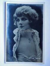 Cinema ALICE TERRY attrice muto silent movie foto film Vettori Bologna 409