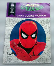 Amazing Spider-Man Giant Comics to Color 1976 Good+/Very Good (3.0) Mask Intact